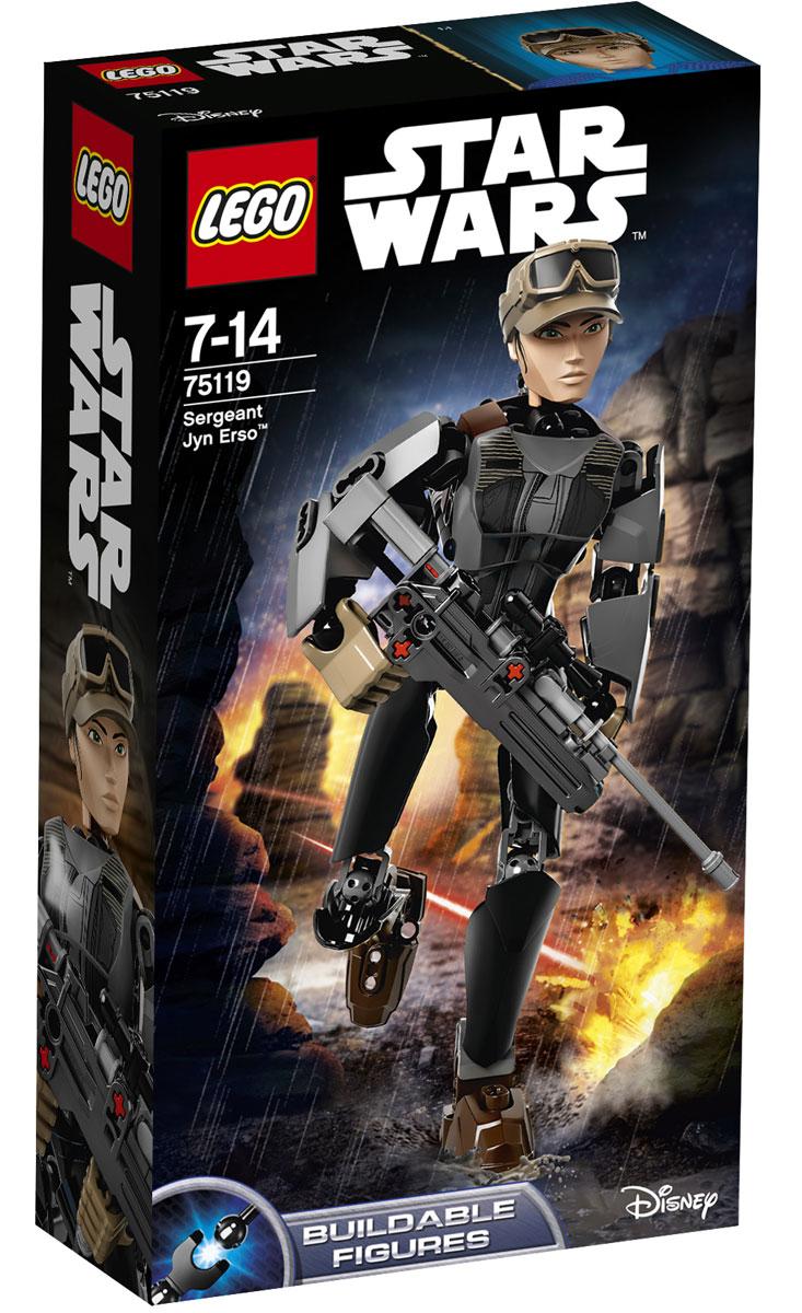 LEGO Star Wars Фигурка-конструктор Сержант Джин Эрсо 75119 lego star wars фигурка конструктор финн 75116