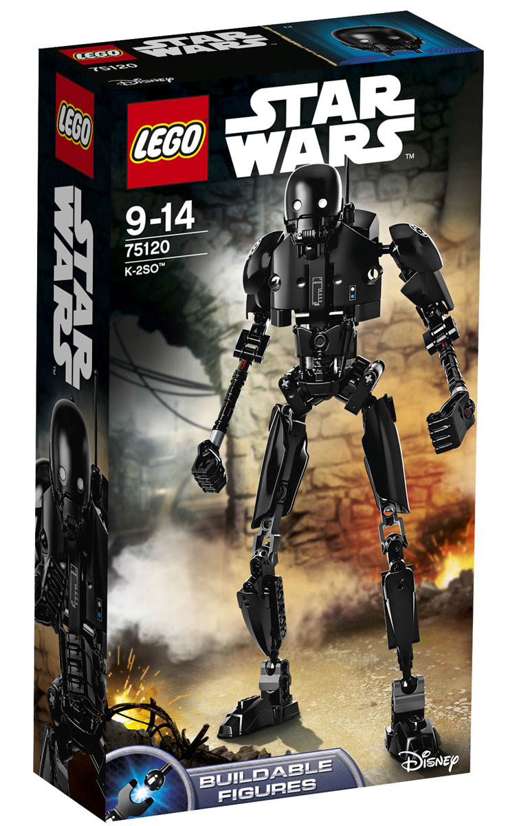LEGO Star Wars Фигурка-конструктор K-2SO 75120 lego lego star wars 75120 к 2so™