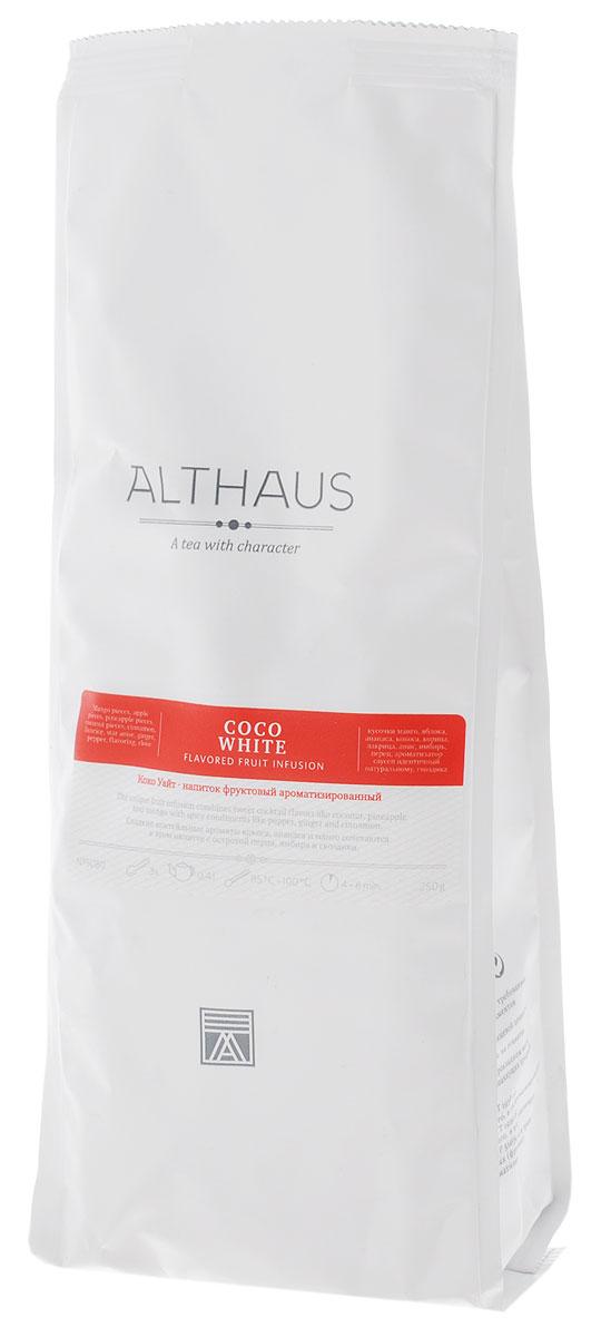 Althaus Coco White фруктовый листовой чай, 250 г гринфилд чай фруктовый