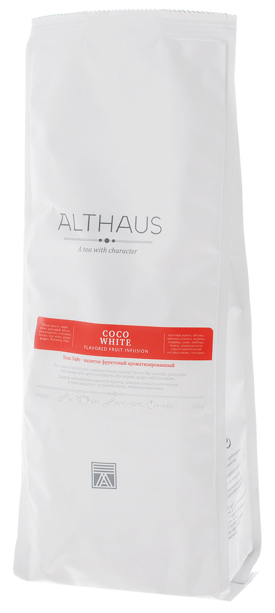 Althaus Coco White фруктовый листовой чай, 250 г althaus чай в красноярске