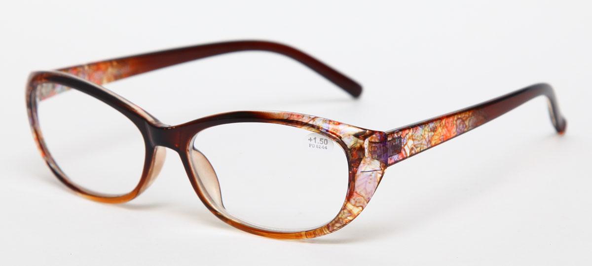 Proffi Home Очки корригирующие (для чтения) 729 Fabia Monti +1.50, цвет: желтыйPH7285Надев эти очки, вы сможете четко видеть пространство впереди себя. Они удобны при чтении. Оправа очков легкая и не создает никакого дискомфорта.