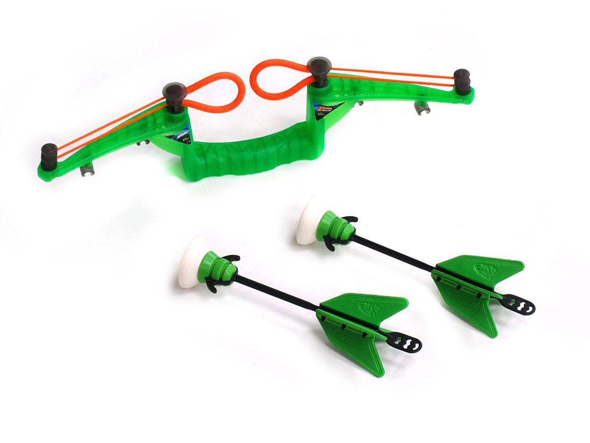 Zing Мини-лук Air Storm Zano Bow с двумя стрелами zing air huntress z bow