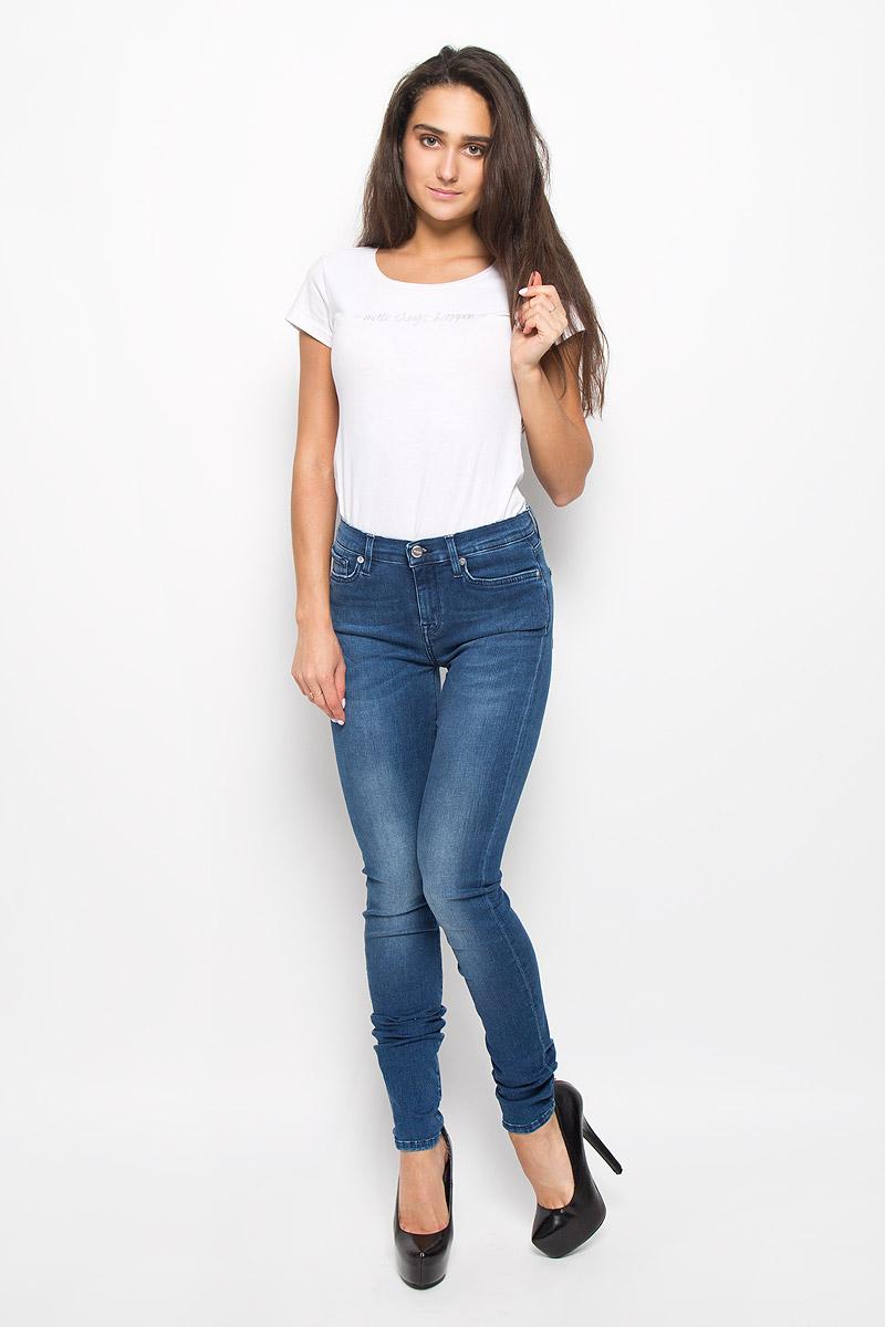 Джинсы женские Selected Femme Sophie, цвет: синий. 16049144. Размер 31-32 (48-32) джинсы женские selected femme цвет темно серый 16054240 размер 29 32 46 32