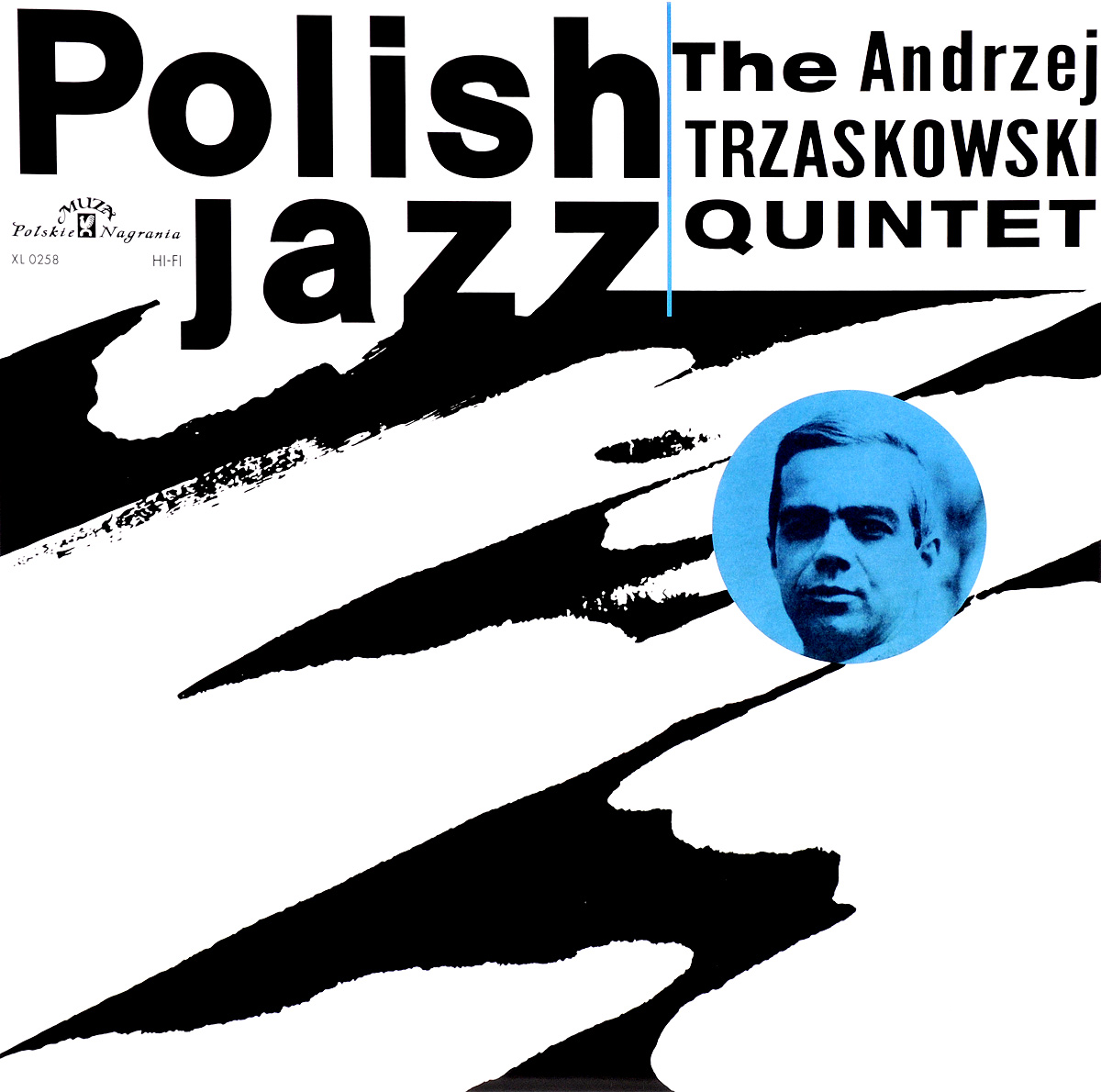 The Andrzej Trzaskowski Quintet Polish Jazz. The Andrzej Trzaskowski Quintet (LP) 18 5 dark gray and light gray and white and transparent holographic rear projection film