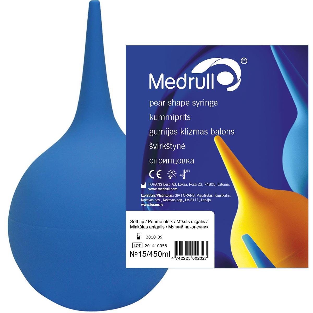 Medrull Cпринцовка для медицинских процедур, тип А-15, 450 мл Medrull