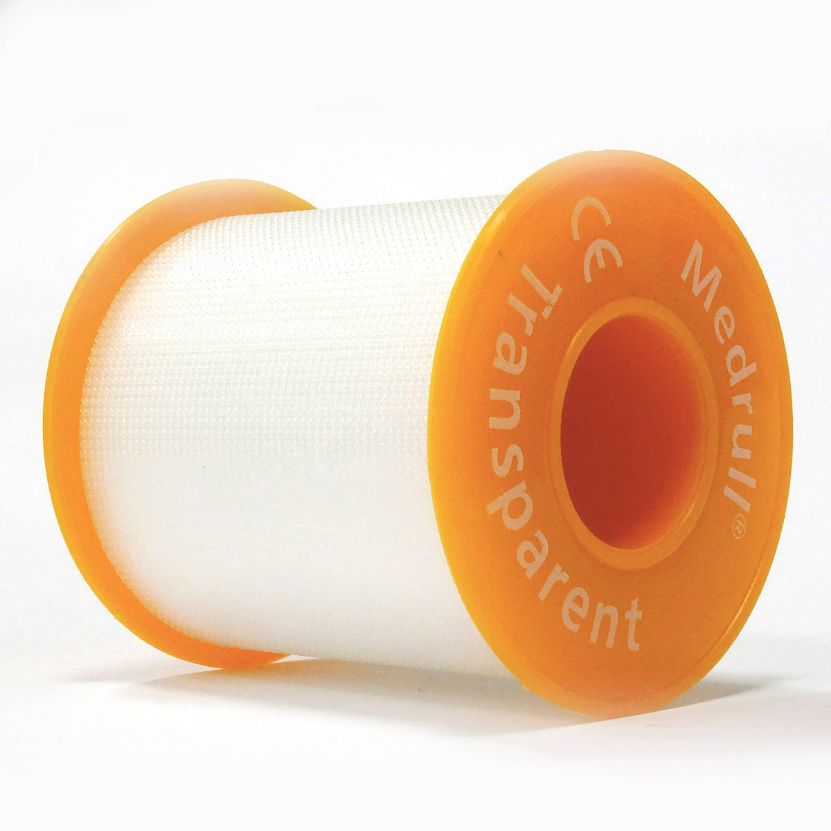 Medrull Лейкопластырь медицинский фиксирующий Transparent, рулонный на полимерной основе, 5х500 см4742225005991ПЛАСТЫРЬ В РУЛЛОНЧИКЕ TRANSPARENT/ ПРОЗРАЧНЫЙ Состав Полимерный материал. Структура материала Перфорированый полимерный материал на цинк – оксидной основе. Размер 5cм x 500cм