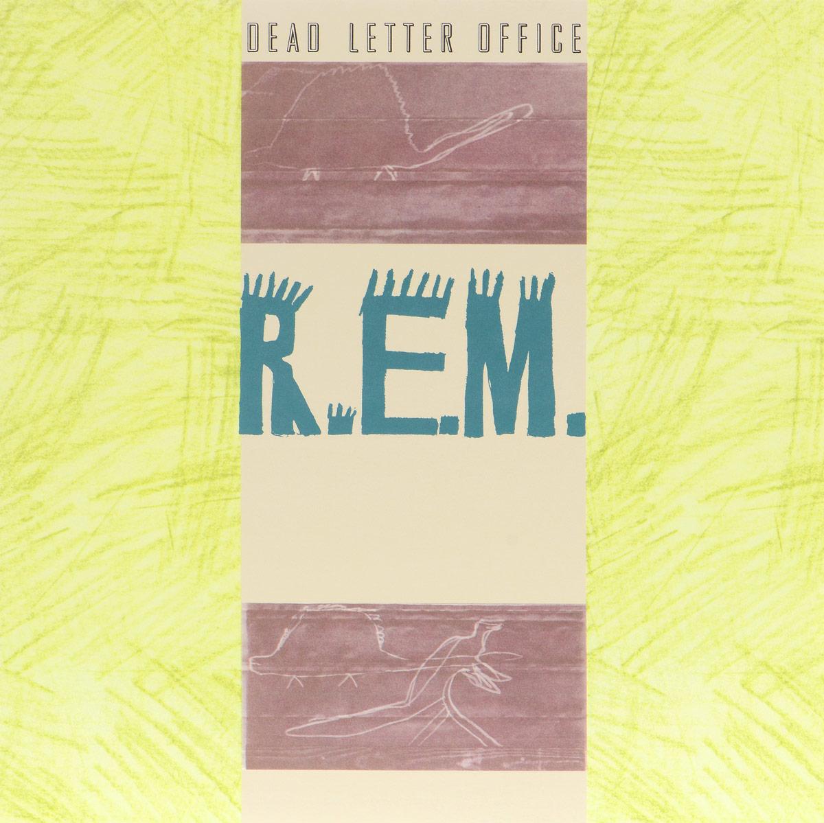 R.E.M. R.E.M. Dead Letter Office (LP) men contrast side letter print pants