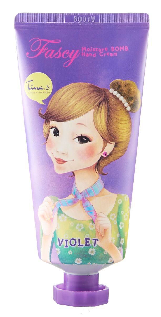 Fascy Увлажняющий крем для рук Moisture Bomb Hand Cream с лавандовой водой, 80 мл atoderm hand cream