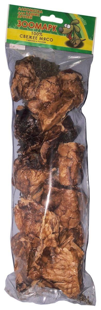 Лакомство для собак ЗооМарк Ассорти, легкое, рубец большие говяжьи, 100 г16Лакомство для собак ЗооМарк Ассорти произведено из натурального говяжьего мяса методом инфракрасной сушки, позволяющая сохранить все полезные и естественные вкусовые качества. Лакомство рекомендовано для удаления зубного налета, профилактики пародонтоза, гингивита и болезней желудочно-кишечного тракта. Улучшает состояние кожи и шерсти вашего питомца. Великолепно скрасит досуг вашего питомца.Состав: 100% свежее мясо. Товар сертифицирован.