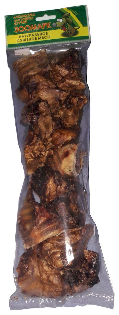 Лакомство для собак ЗооМарк Ассорти, легкое, рубец, трахея большие говяжьи, 125 г