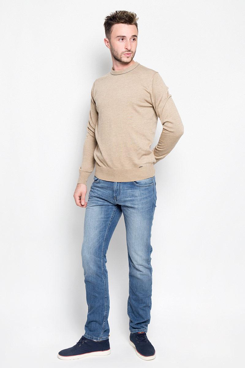 Джинсы мужские Tom Tailor Denim Aedan, цвет: синий. 6205038.09.12_1051. Размер 30-34 (46-34)6205038.09.12_1051Модные мужские джинсы Tom Tailor Denim Aedan - джинсы высочайшего качества на каждый день, которые прекрасно сидят.Модель зауженного кроя и низкой посадки изготовлена из натурального хлопка. Застегиваются джинсы на пуговицу в поясе и на ширинку-молнию, также имеются шлевки для ремня. Спереди модель дополнена двумя втачными карманами и одним накладным кармашком, а сзади - двумя накладными карманами. Эти стильные и в то же время комфортные джинсы послужат отличным дополнением к вашему гардеробу. В них вы всегда будете чувствовать себя уютно и комфортно.