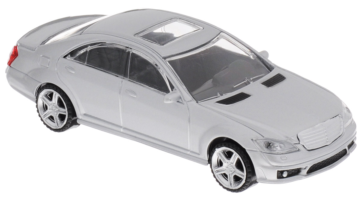 Rastar Модель автомобиля Mercedes-Benz S63 AMG цвет серебристый rastar модель автомобиля mercedes benz s63 amg цвет серебристый