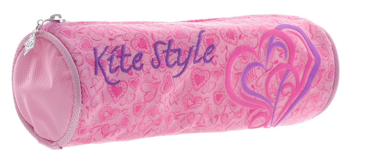 Kite Пенал Style цвет розовый -  Пеналы