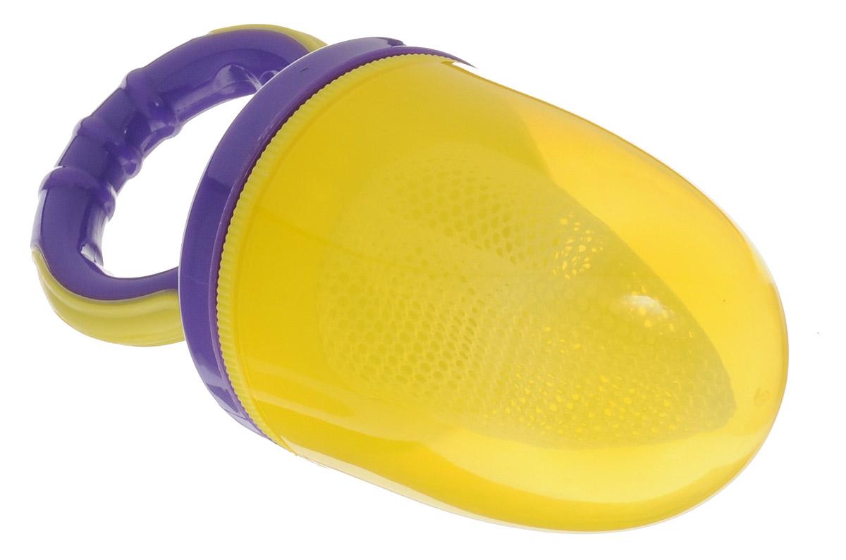 Lubby Ниблер Жуй'КА цвет желтый фиолетовый -  Все для детского кормления