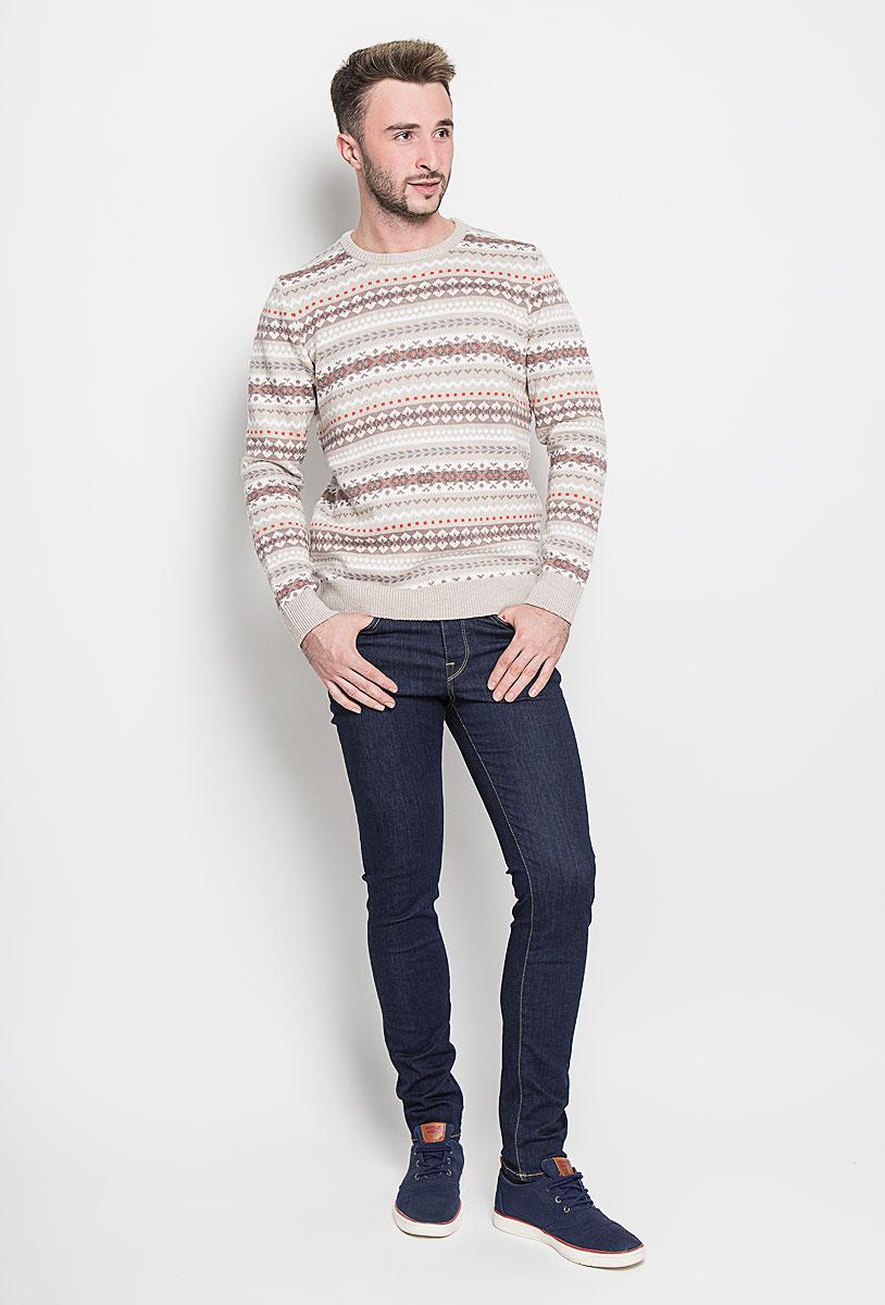 Джинсы мужские Selected Homme, цвет: темно-синий. 16052934. Размер 33-32 (48-32)16052934_Dark Blue DenimМодные мужские джинсы Selected Homme - это джинсы высочайшего качества, которые прекрасно сидят. Они выполнены из высококачественного эластичного хлопка с добавлением полиэстера, что обеспечивает комфорт и удобство при носке. Джинсы-скинни заниженной посадки станут отличным дополнением к вашему современному образу. Джинсы застегиваются на пуговицу в поясе и ширинку на пуговицах, дополнены шлевками для ремня. Джинсы имеют классический пятикарманный крой: спереди модель дополнена двумя втачными карманами и одним маленьким накладным кармашком, а сзади - двумя накладными карманами.Эти модные и в то же время комфортные джинсы послужат отличным дополнением к вашему гардеробу.