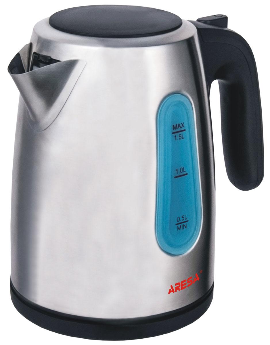 Aresa AR-3404 чайник электрическийAR-3404Электрический чайник Aresa AR-3404 в стильном металлическом корпусе мощностью 2000 Вт и объемом 1,5 литра отвечает всем современным требованиям надежности и безопасности. При его производстве используются только высококачественные и экологически безопасные материалы, а также нагревательный элемент и контроллеры высокого класса надежности. Устройство будет служить вам долгие годы, наполняя ваш быт комфортом!