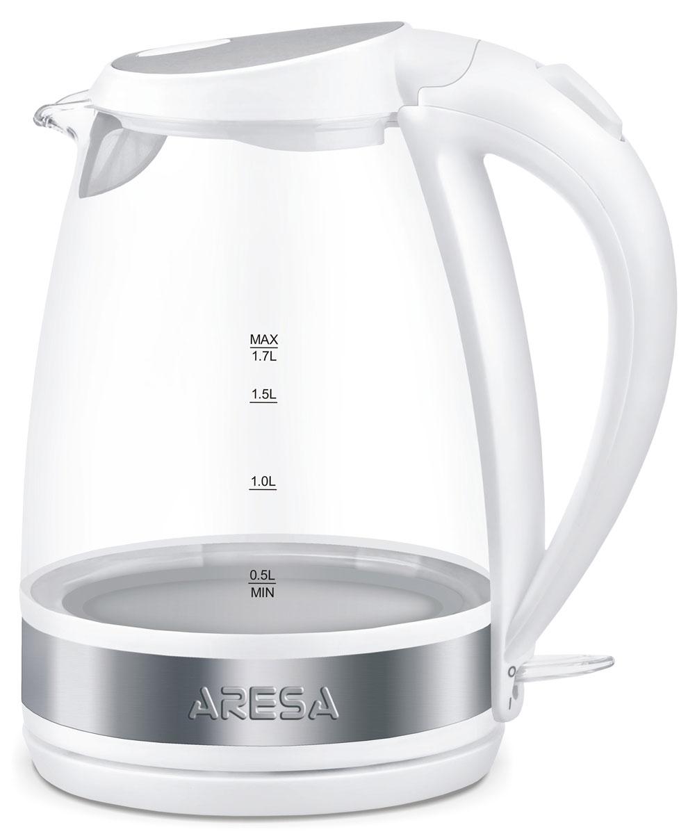 Aresa AR-3427 чайник электрическийAR-3427Электрический чайник Arsea AR-3427 мощностью 2000 Вт и объемом 1,7 литра отвечает всем современным требованиям надежности и безопасности. При его производстве используются только высококачественные и экологически безопасные материалы, а также нагревательный элемент и контроллеры высокого класса надежности. Устройство будет служить вам долгие годы, наполняя ваш быт комфортом!