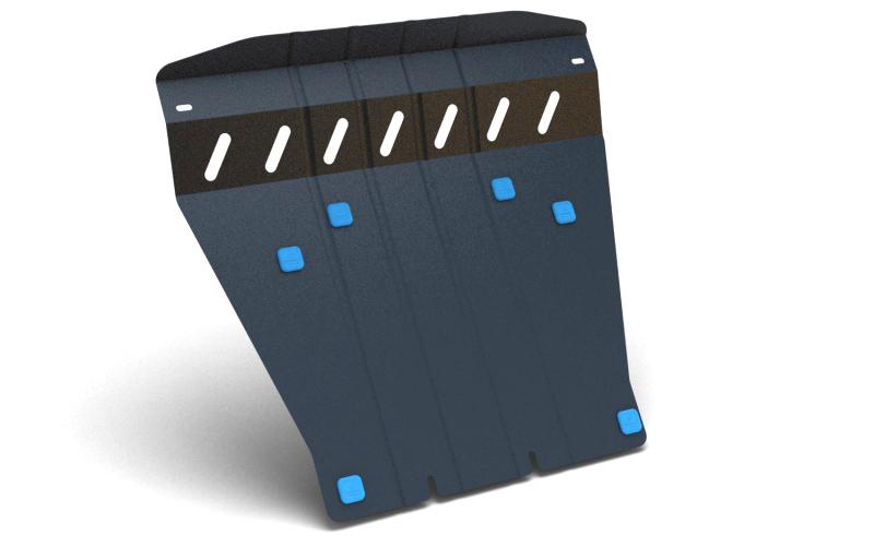 Комплект Защита картера и крепеж SSANGYONG Actyon sports (2006-2011)(2012-) 2,0 дизель МКПП/АКППNLZ.61.09.020 NEW