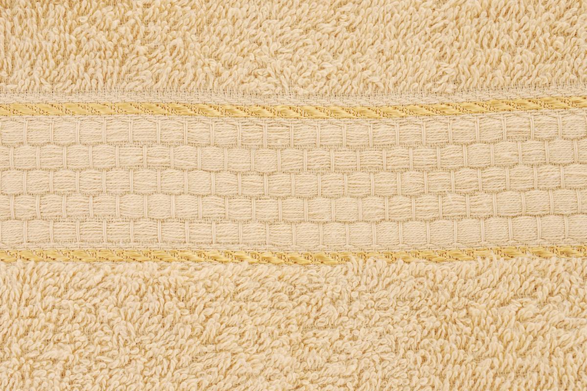 """Полотенце Aisha Home Textile """"Соты"""" выполнено из натуральной гладкокрашеной махровой ткани (100% хлопок). Изделие отлично впитывает влагу, быстро сохнет, не линяет, сохраняет яркость цвета и не теряет форму даже после многократных стирок. Изысканный бордюр с рисунком в виде сот придает изделию элегантный внешний вид, поэтому оно подойдет для любого интерьера ванной комнаты.  Полотенце очень практично и неприхотливо в уходе. Оно станет достойным выбором для вас и приятным подарком для ваших близких. Полотенце упаковано в стильную подарочную коробку."""