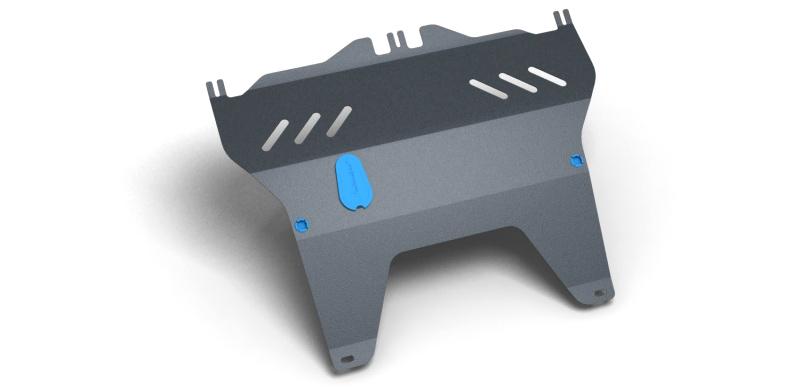 Комплект Защита картера и крепеж PEUGEOT 107 (2005-) (2мм) 1,0 бензин МКПП/АКППNLZ.38.07.020 NEW