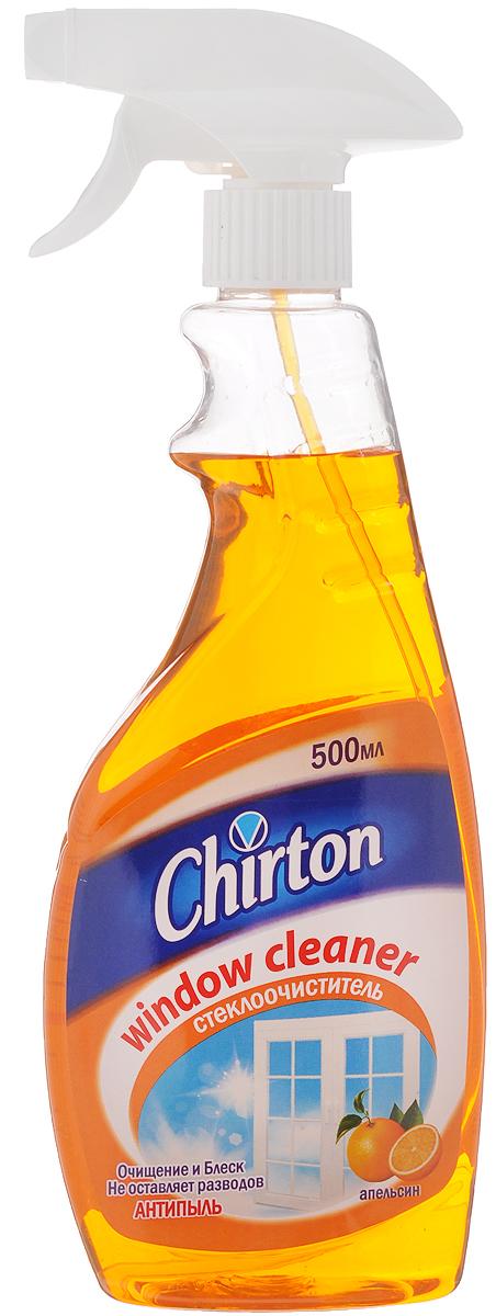 Средство для мытья стекол и зеркал Chirton Апельсин, 500 млBN-153Средство Chirton Апельсин предназначено для мытья стекол, зеркал и любых других изделий из стекла. Эффективно смывает грязь, пыль, следы рук и прочие загрязнения. Средство не оставляет разводов и следов, защищает от налипания пыли и придает поверхности блеск.Товар сертифицирован.