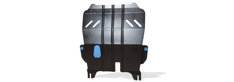 Защита картера и крепеж Novline-Autofamily, для LADA Xray, 2016-, 1.6 бензиновый, МКПП/АКППNLZ.52.30.020 NEWЗащита картера Novline-Autofamily, изготовленная из прочной стали, надежно защищает днище вашего автомобиля от повреждений, например при наезде на бордюры, а также выполняет эстетическую функцию при установке на высокие автомобили.- Отлично отводит тепло от двигателя своей поверхностью, что спасает двигатель от перегрева в летний период или при высоких нагрузках.- В отличие от стальных, стальные защиты не поддаются коррозии, что гарантирует долгий срок службы защит.- Покрываются порошковой краской, что надолго сохраняет первоначальный вид новой защиты и защищает от гальванической коррозии.- Прочное крепление дополнительно усиливает конструкцию защиты.
