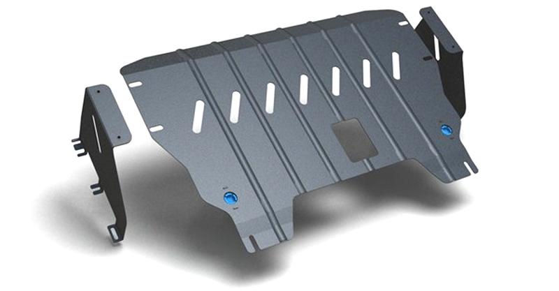 Комплект Защита картера и крепеж KIA Picanto (2011-) 1,0/1,2 бензин МКПП/АКППNLZ.25.31.020 NEW