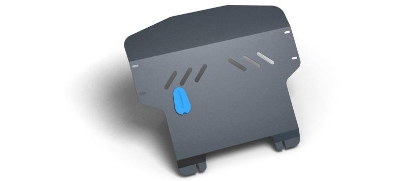 Комплект Защита картера и крепеж KIA Picanto (2009-2011) (2мм) 1,0/1,1 бензин МКПП/АКППNLZ.25.26.020 NEW