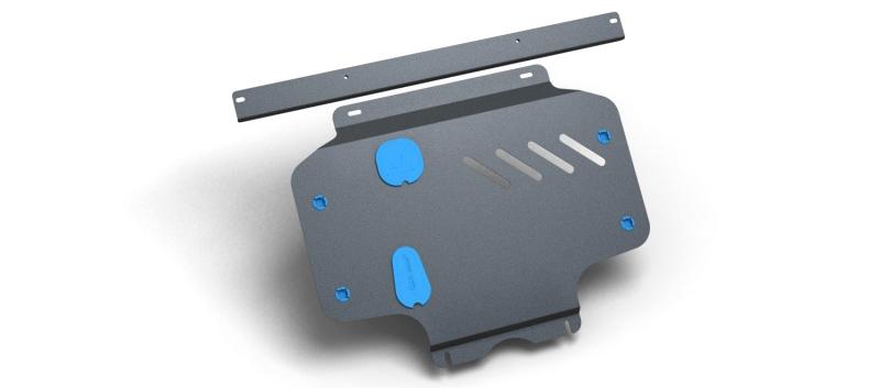 Защита картера и крепеж Novline-Autofamily, для HONDA Jazz 2008-, 2 мм, 1,4 бензиновый, МКПП/АКППNLZ.18.05.020 NEWЗащита картера Novline-Autofamily, изготовленная из прочной стали, надежно защищает днище вашего автомобиля от повреждений, например, при наезде на бордюры, а также выполняет эстетическую функцию при установке на высокие автомобили.- Отлично отводит тепло от двигателя своей поверхностью, что спасает двигатель от перегрева в летний период или при высоких нагрузках.- В отличие от стальных, стальные защиты не поддаются коррозии, что гарантирует долгий срок службы защит.- Покрываются порошковой краской, что надолго сохраняет первоначальный вид новой защиты и защищает от гальванической коррозии.- Прочное крепление дополнительно усиливает конструкцию защиты.