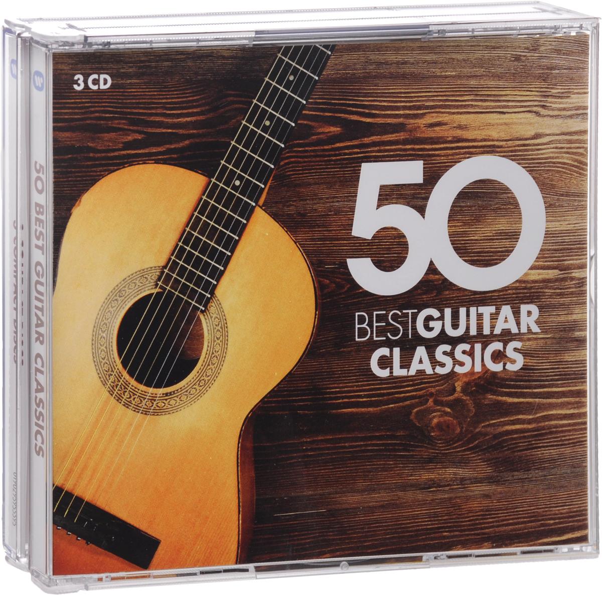 50 Best Guitar Classics (3 CD) cd сборник 100 best guitar classics