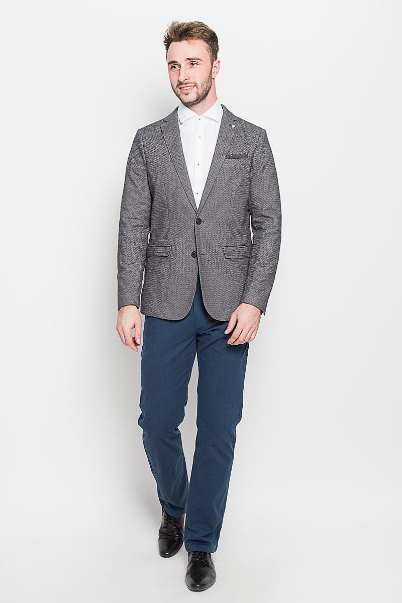 Пиджак мужской Selected Homme, цвет: серый. 16051939. Размер 56 пиджак мужской selected homme цвет темно синий 16051948 разме�� 56