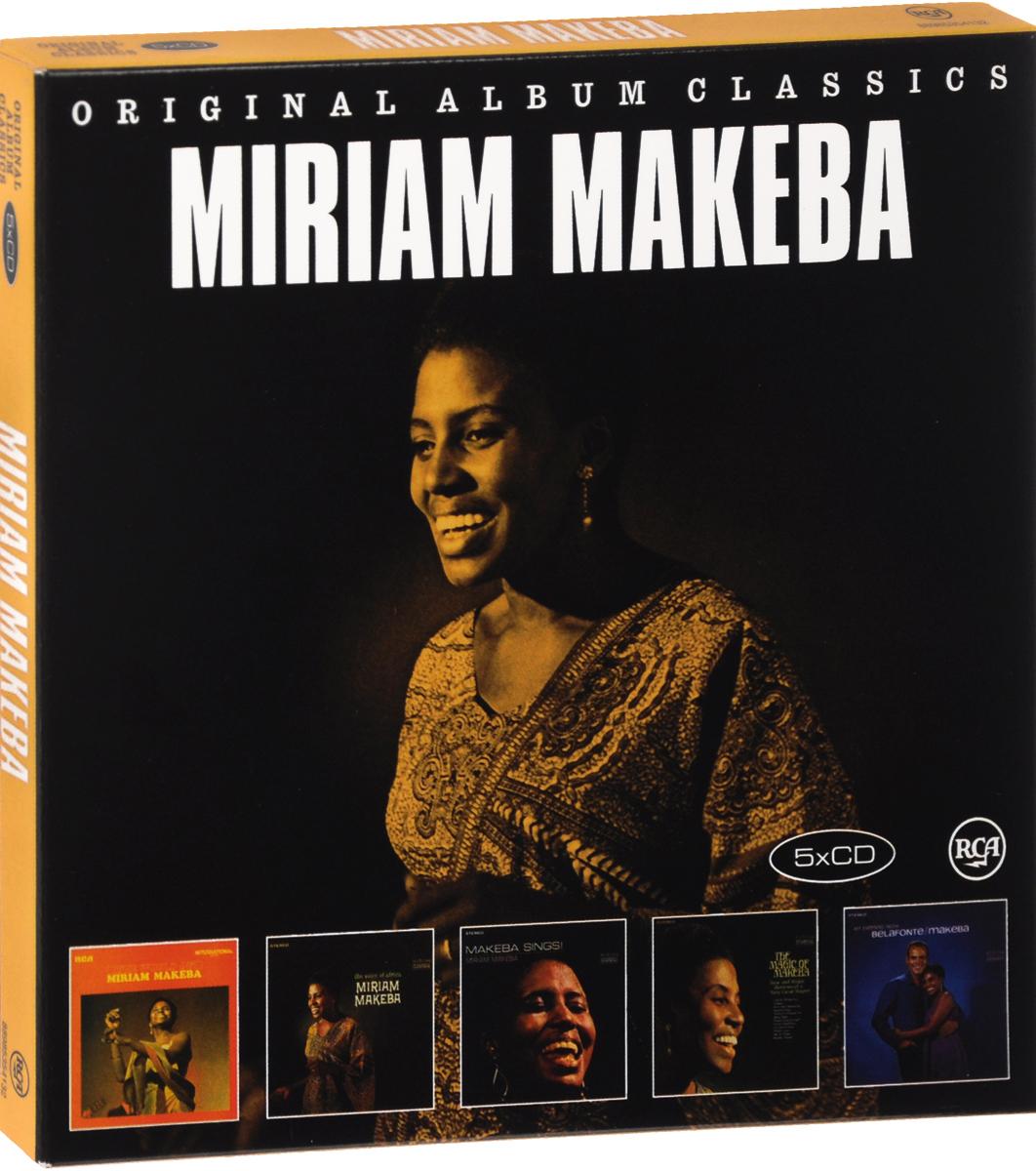 Мириам Макеба,Гарри Белафонте Miriam Makeba. Original Album Classics (5 CD) гарри белафонте мириам макеба harry belafonte miriam makeba an evening with belafonte makeba