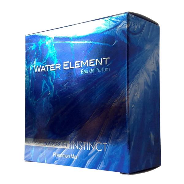Natural Instinct Парфюмерная вода, WATER ELEMENT, мужские, 100 млNI-WT-100Это легкая свежесть и прозрачная прохлада дыхания стихии воды. Этот гармоничный и живительный аромат начинается с едва ощутимых озоновых нот, смешанных с сияющими акцентами экзотического апельсина юзу. В сердце парфюма – коктейль из водных растений - белый лотос, символ мудрости и бессмертия, и водяной перец, плавно тающий в мягком шлейфе зеленого перца и белого мускуса. Парфюмерная вода на спиртовой основе с феромонами.