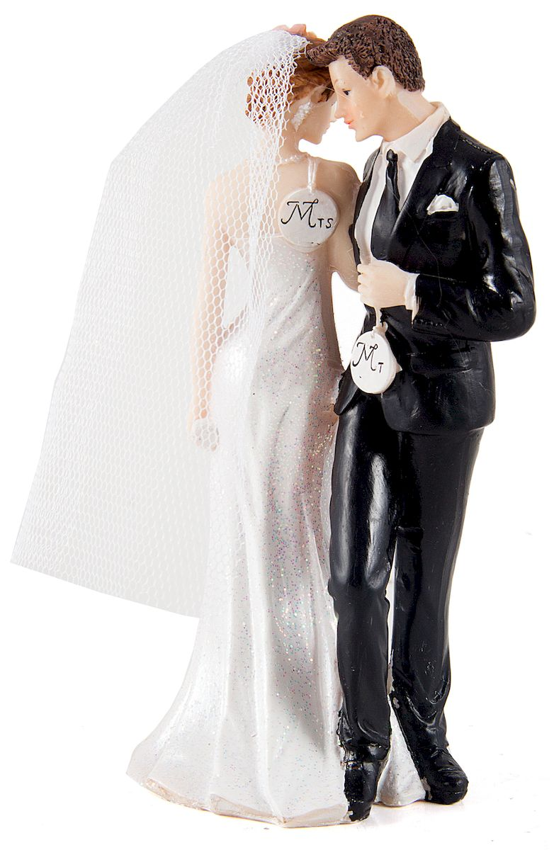 Фигурка декоративная Win Max Свадебная, 8 х 6 х 16 см. 127851127851Декоративная фигурка Win Max Свадебная изготовлена из полистоуна. Изделие представляет собой фигурку жениха и невесты. Такая фигурка идеально впишется в свадебный интерьер в качестве украшения и будет радовать вас своим видом в самый важный день в вашей жизни.