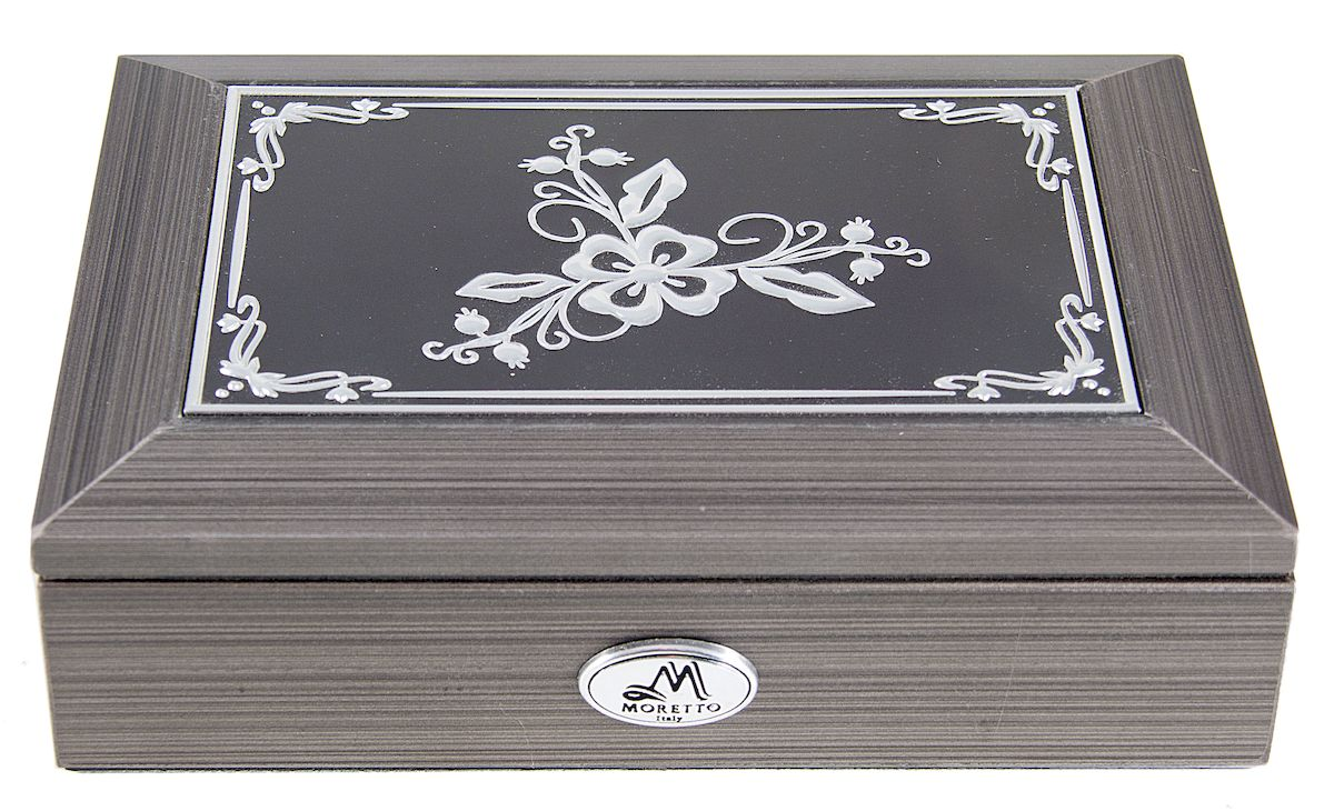 Шкатулка для ювелирных украшений Moretto, 18 х 13 х 5 см. 139594