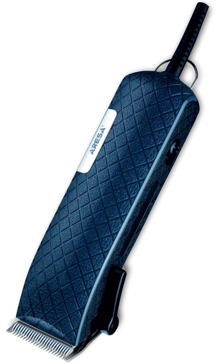 Aresa AR-1811 машинка для стрижки волосAR-1811Aresa AR-1811 - надежная и недорогая машинка для стрижки волос с питанием от сети. Лезвия прибора изготовлены из качественной нержавеющей стали. Их длина регулируется в зависимости от ваших предпочтений. Данная модель имеет эргономичный дизайн. Она обеспечит безопасное и точное удаление волос.