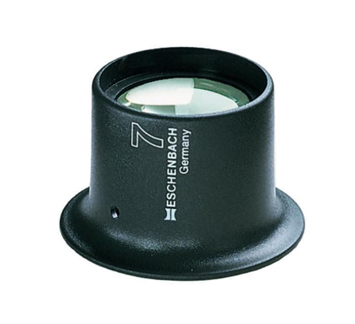 Лупа техническая часовая, диаметр 25 мм, 3.0х (12.0 дптр). 11243