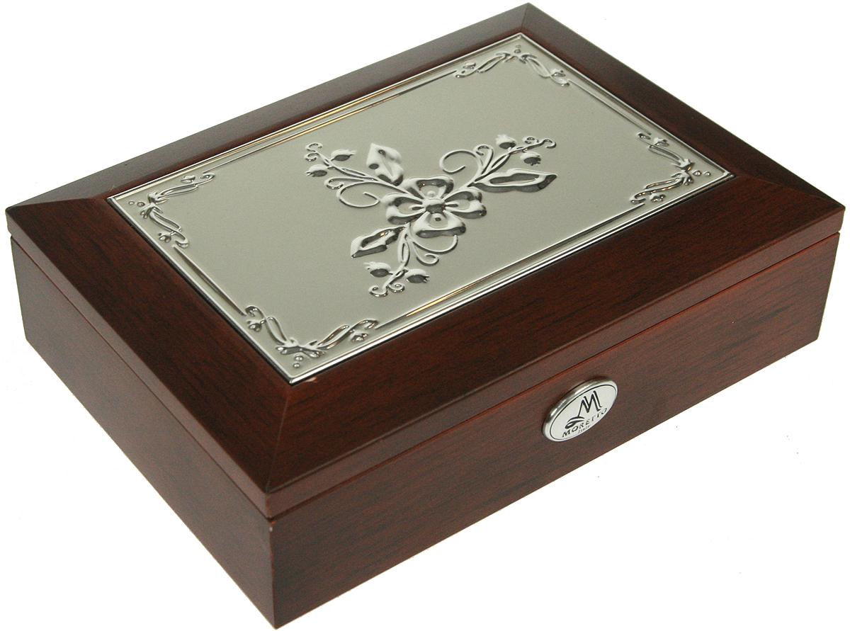 Шкатулка для ювелирных украшений Moretto, 18 х 13 х 5 см. 139517 sitemap 331 xml