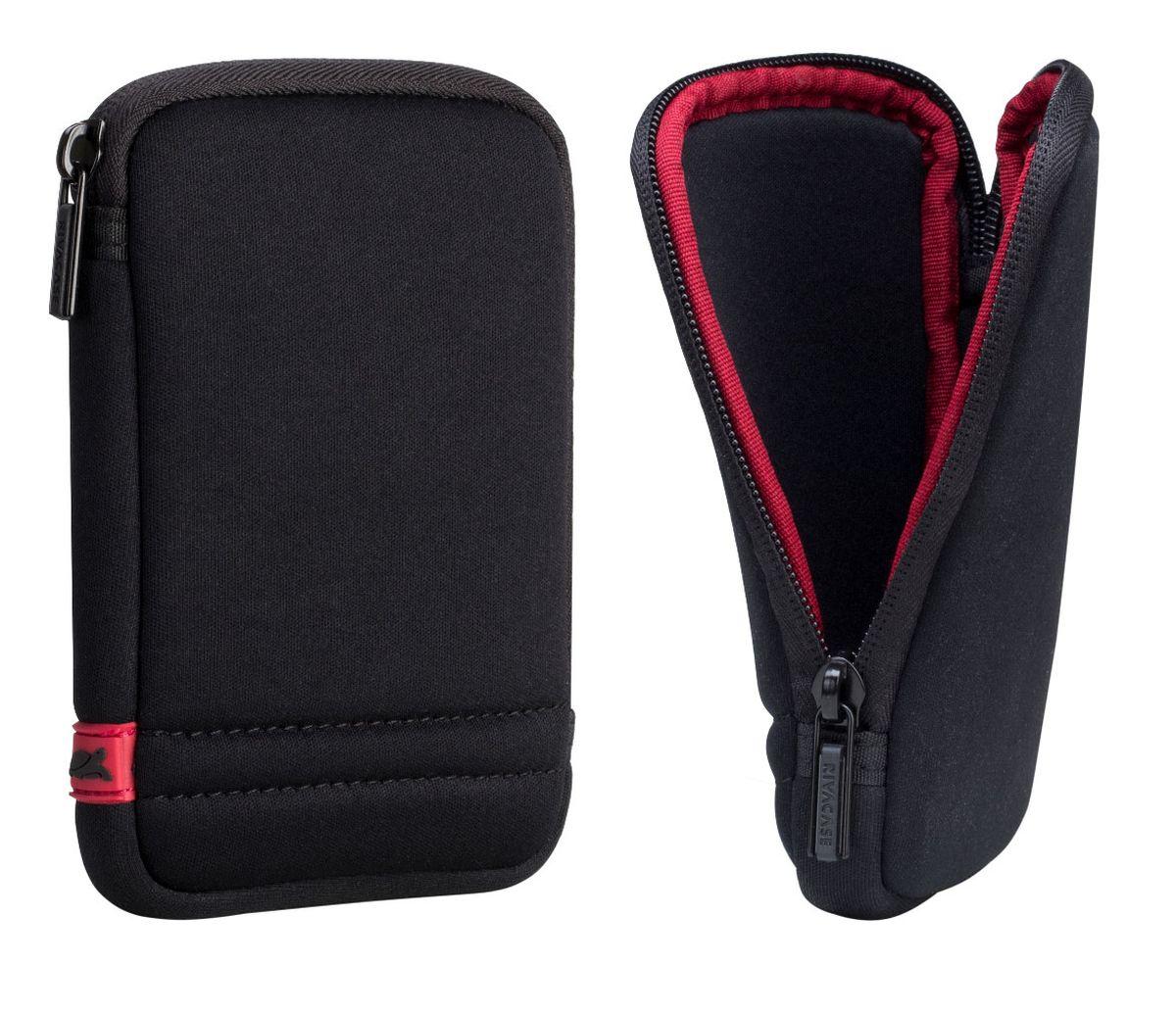 RIVACASE 5101 HDD 2,5 Case, Black чехол для жесткого диска сумка rivacase riva case 8830