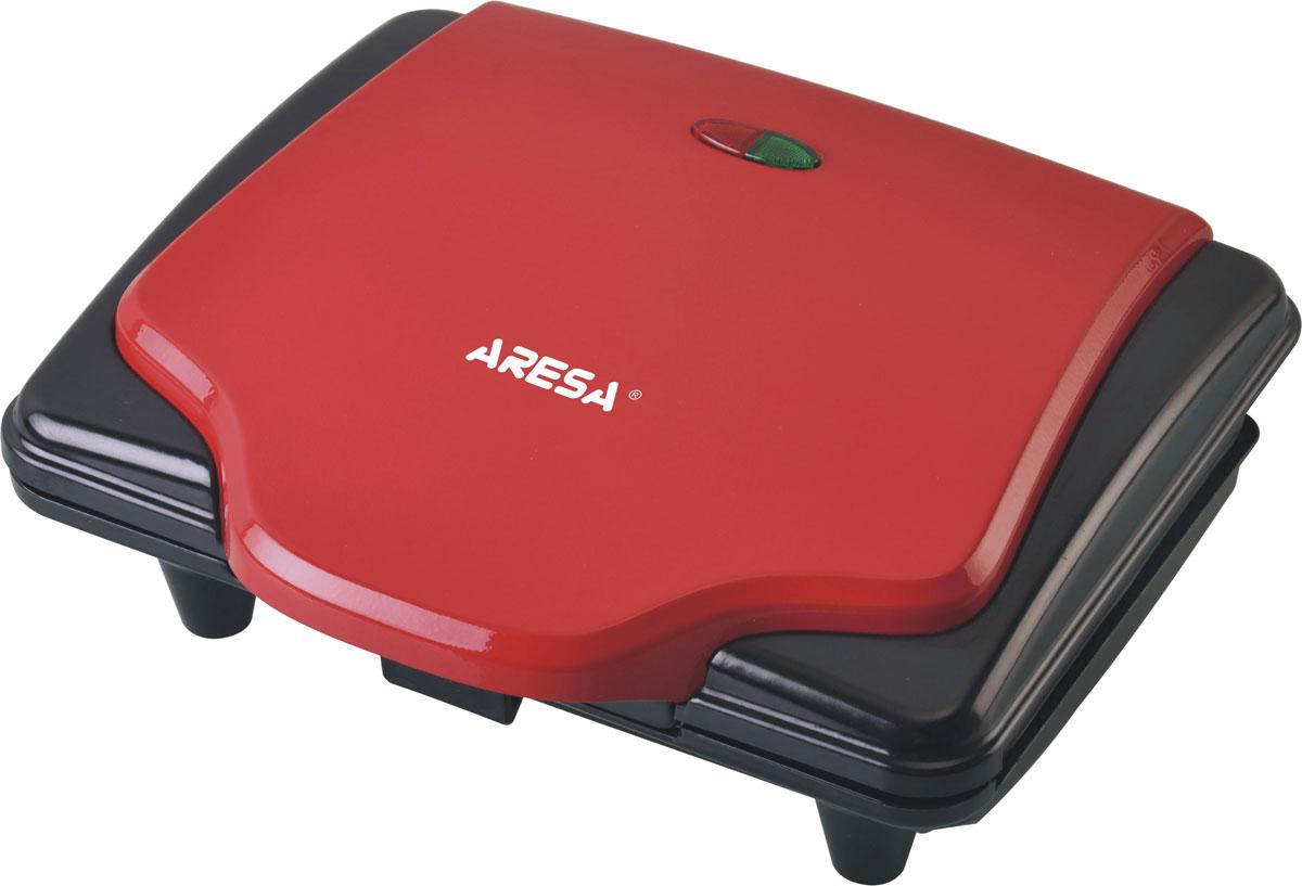 Aresa AR-2801 вафельницаAR-2801Вафельница Aresa AR-2801 имеет надежный и прочный корпус из термостойкого пластика. Две формы позволят приготовить восхитительные венские вафли. Высококачественное антипригарное покрытие и защита от перегрева обеспечит комфортное и безопасное использование прибора. Для отслеживания работы вафельница имеются световой индикатор питания и нагрева.