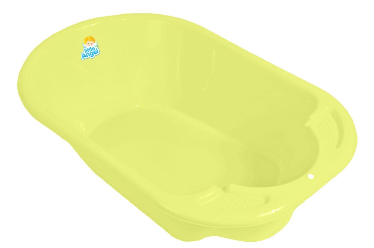Little Angel Ванна детская Дельфин цвет желтый -  Все для купания