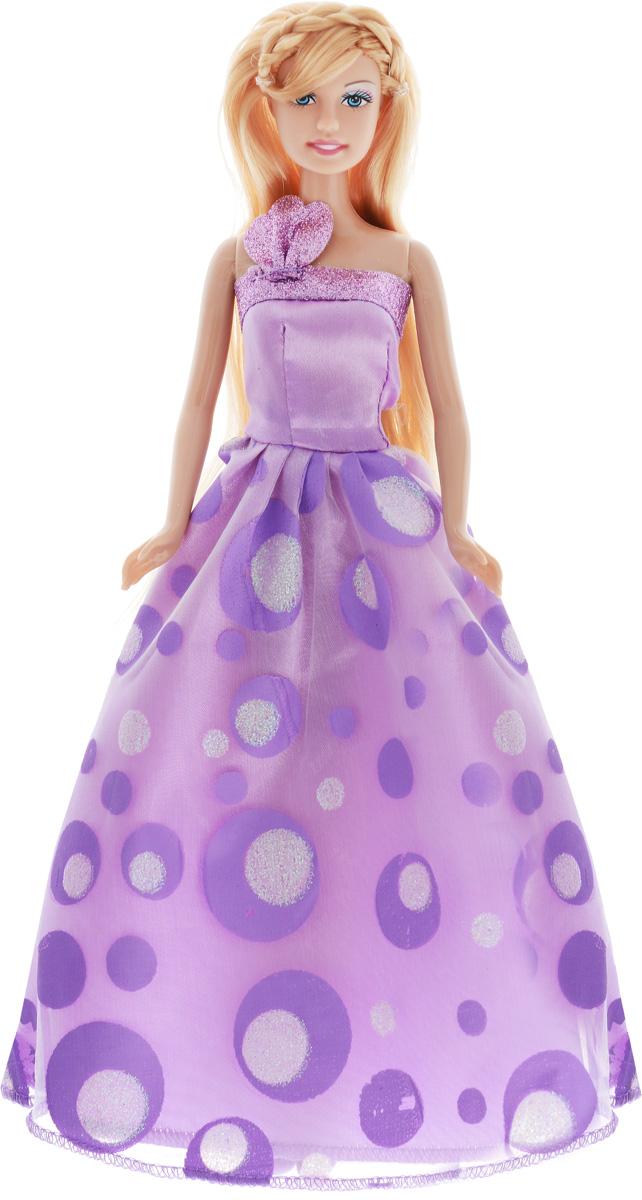 Defa Кукла Lucy Принцесса цвет платья сиреневый кукла defa lucy принцесса с лошадкой аксесс