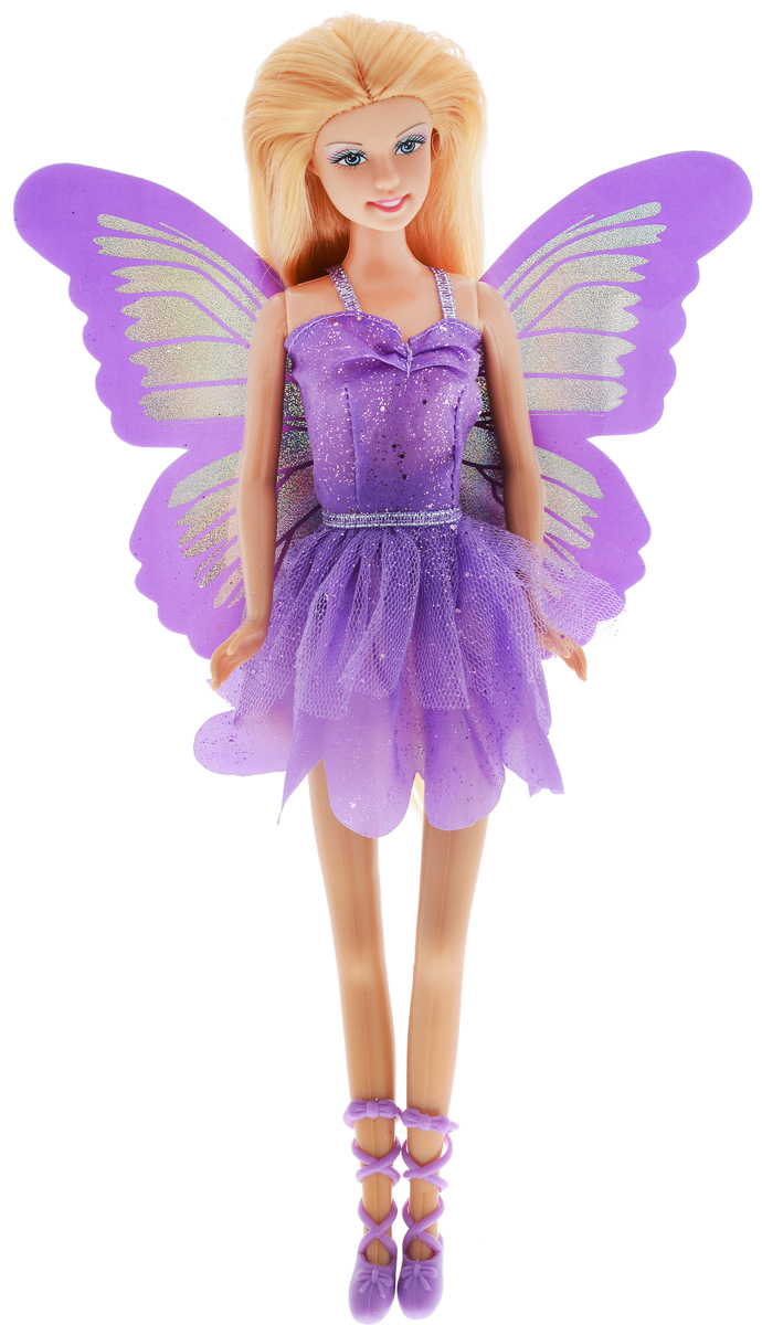 Defa Кукла Butterfly Fairy цвет платья фиолетовый
