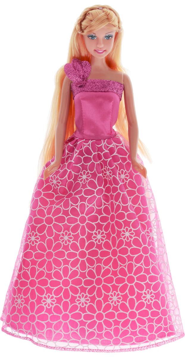 Defa Кукла Lucy Принцесса цвет платья розовый defa toys кукла lucy happy wedding цвет платья розовый