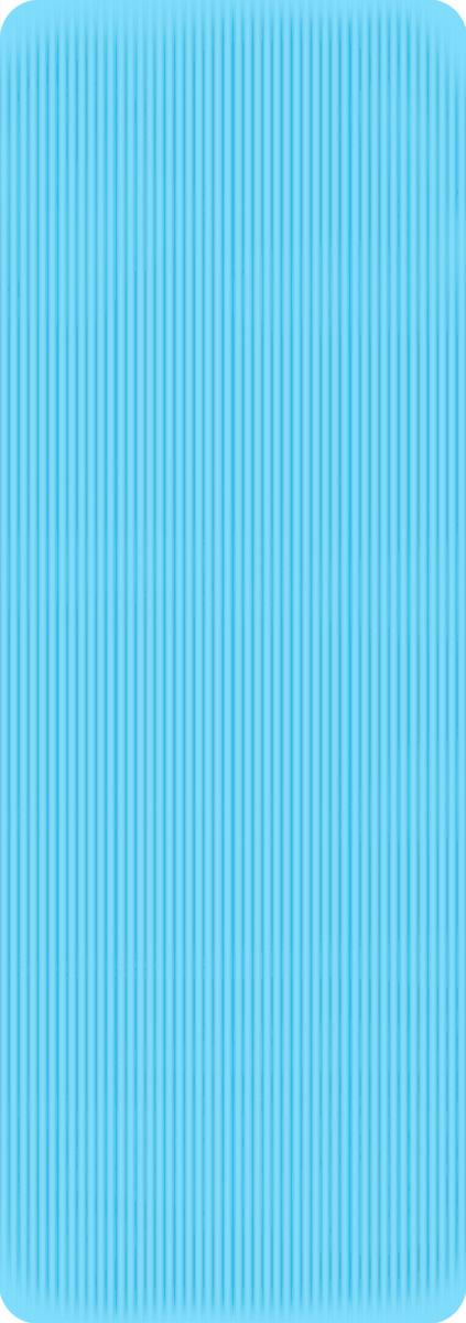 Коврик для фитнеса и йоги Alonsa NBR, цвет: бирюзовый, 173 х 61 х 1 см мяч массажный alonsa цвет серебристый 20 см