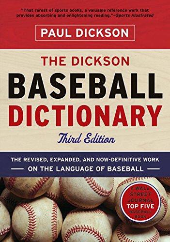 The Dickson Baseball Dictionary aficionado aficionado afn wb500rw5