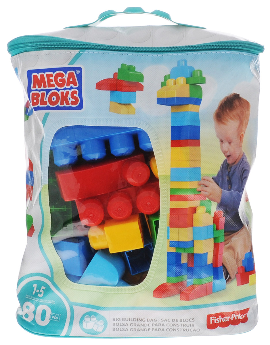 Mega Bloks First Builders Конструктор DCH63 mattel конструктор 80 деталей first builders mega bloks