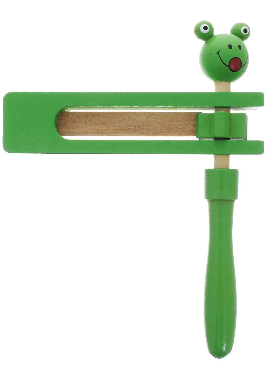Фабрика Фантазий Трещотка цвет зеленый наборы для творчества фабрика фантазий набор для создания фигурок из гипса на магнитах фрукты и овощи