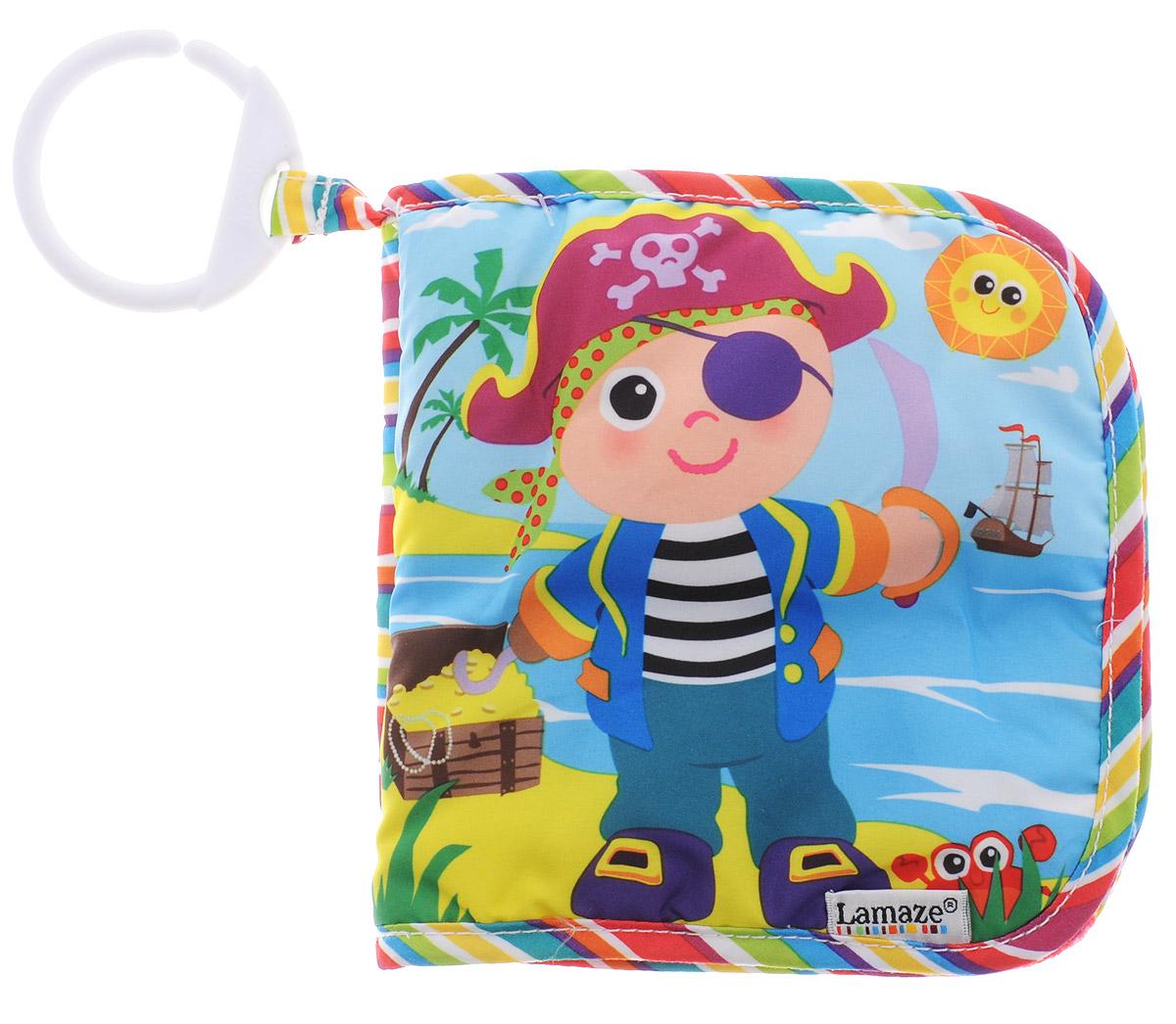 Tomy Книжка-игрушка Пират Пит tomy lamaze книжка пират пит