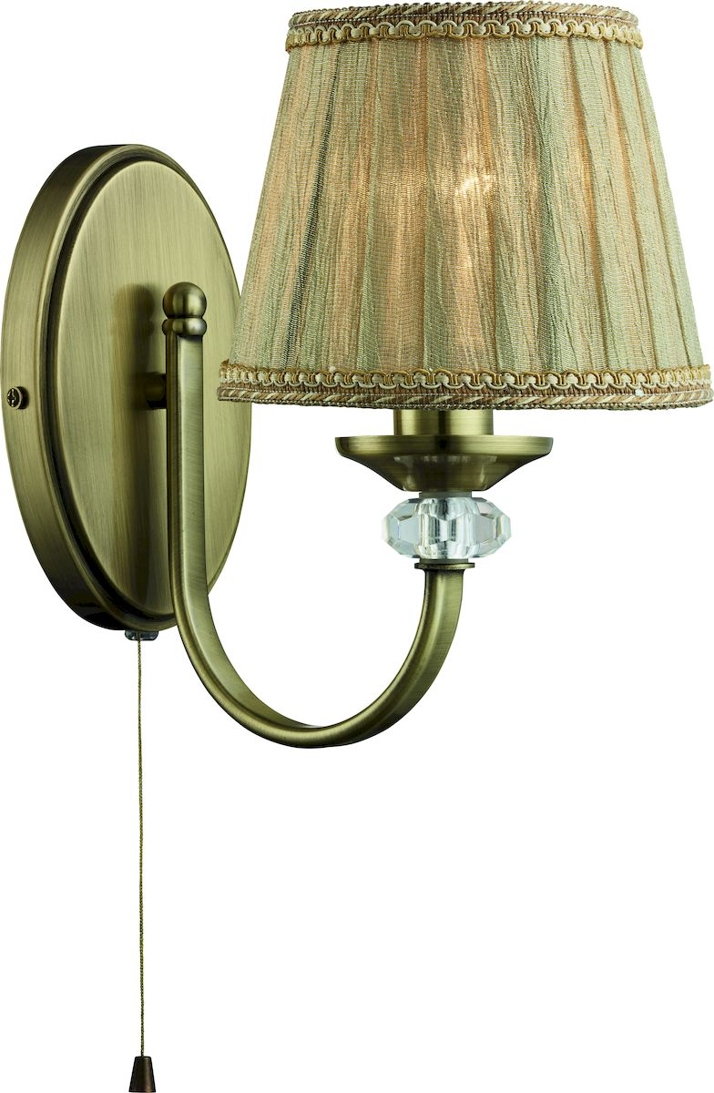 Светильник настенный Arte Lamp SYLVIA A1180AP-1ABA1180AP-1AB